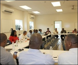 Nevis Disaster Management Meeting