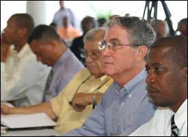 Participants at Nevis Consultaion On The Economy