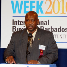 Nevis Energy Minister - Carlisle Powell