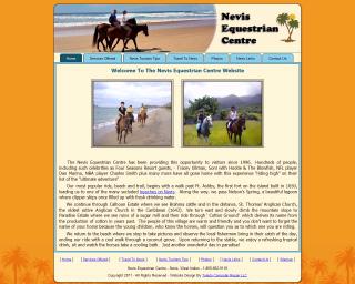 Nevis Equestrian Centre Snapshot