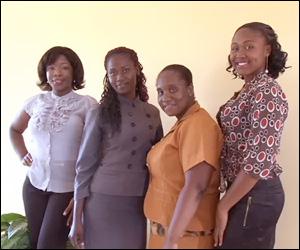 Nevis Farm Queen Contestants - 2014