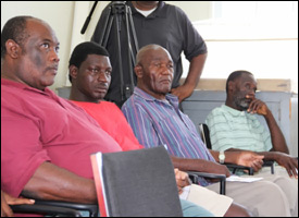 Nevis Farmers At Donation Ceremony