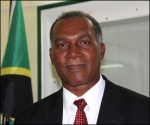 Nevis Finance Minister and PM - Vance Amory