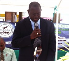 Nevis Fisheries Minister - Robelto Hector