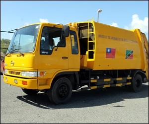 Nevis' New Garbage Truck