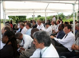 Nevis Geothermal Power Conference Participants