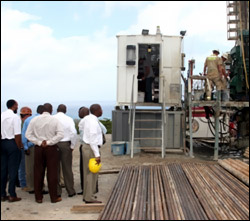 Nevis Geothermal Drilling Project