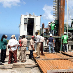 Nevis Geothermal Drilling Rig
