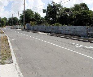 Hamilton Road - Nevis, West Indies
