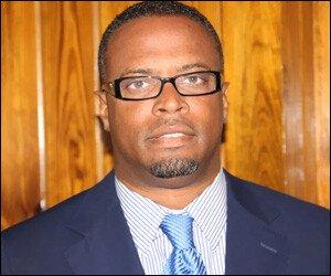 Nevis Health Minister - Mark Brantley