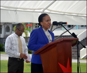 Nevis Health Secretary - Nicole Slack-Liburd