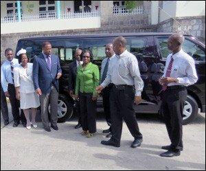 New Bus For Nevis Hospital