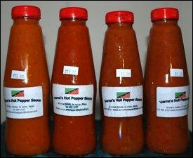 Nevis Hot Pepper Sauce