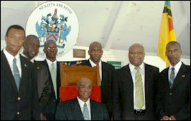 Nevis Island Administration Cabinet