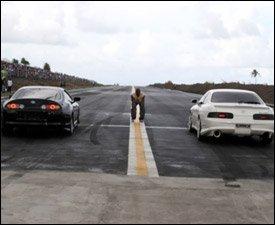 Nevis Island Drag Racing Strip