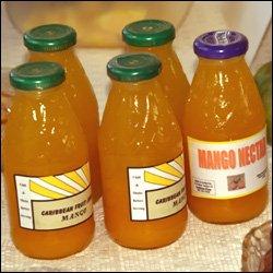 Locally Made Nevis Mango Fruit Juice