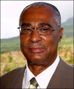 Nevis Island Premier - Joseph Parry