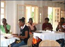 Participants At Nevis Tourism Workshop