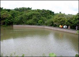 Nevis, West Indies Water Dam