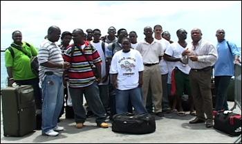 Nevis Trainees Return From Trinidad