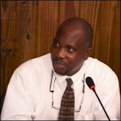 Nevis Junior Minister - Mr. Carlisle Powell