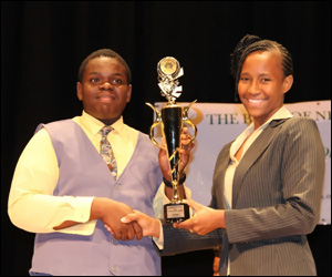 Rol-J Williams - Nevis Junior Tourism Minister