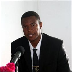 Nevis Junior Trade Minister - Dwight Cozier
