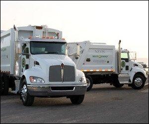 Nevis' Kenworth Garbage Trucks