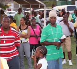 Revelers At Nevis' Labour Day Bash - 2010