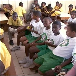Students At Launch Of Nevis' Big Brother Program