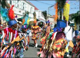 Nevis Masquerade Dancers