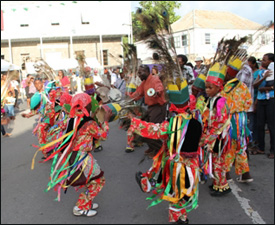 Young Nevis Masqueraders