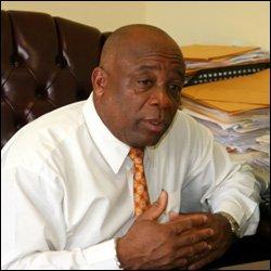 Nevis Social Minister - Hensley Daniel