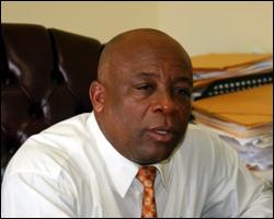 Nevis' Minister Of Health - Hensley Daniel