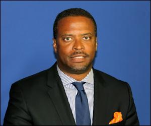 Nevis' Minister of Health - Mark Brantley