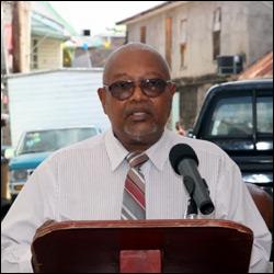Nevis Cooperative Director- Samuel Powell