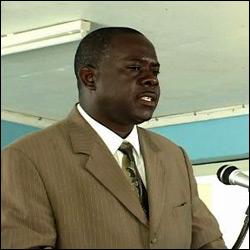 Nevis Minister - Robelto Hector