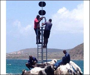 Boating Navigation Lights Off Nevis