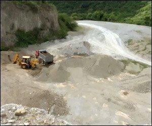 Nevis' New River Quarry