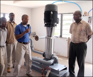 Nevis Receives New Water Pump Booster