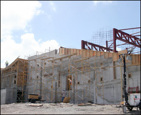 Nevis' Performing Arts Centre Under Construction