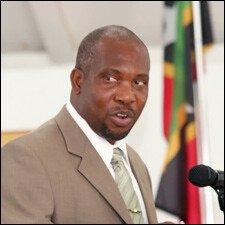 Nevis Planning Minister - Carlisle Powell