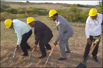 Ground Breaking For New Plastic Surgery Clinic
