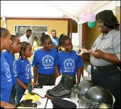 Nevis Police At Career Awareness Day