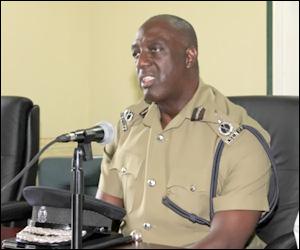 Police Commissioner - Celvin Walwyn