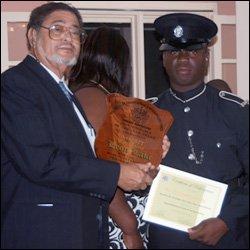 Nevis Police Constable - Leon Lake