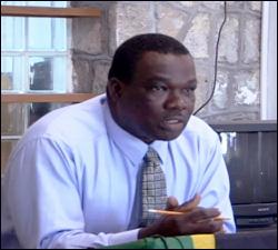 Nevis Police Inspector - Hilroy Brandy