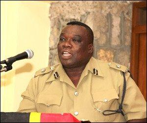 Nevis Police Superintendent Hilroy Brandy