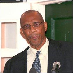 Nevis Police Superintendent Samuel Seabrookes