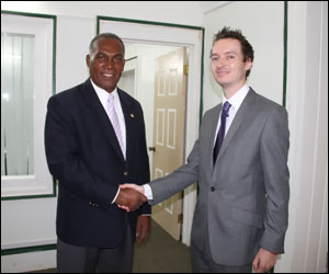 Premier Parry and Consular Robinson